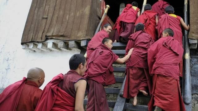 Haben nichts zu lachen ion China: tibetische Mönche (Symbolbild)
