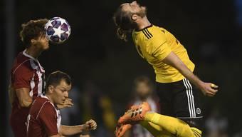 Spektakuläre Bilder (wie hier bei der 2. Liga AFV Kickoff-Partie zwischen dem FC Suhr und dem FC Gränichen) können auf Instagram zu mehr Followers führen.
