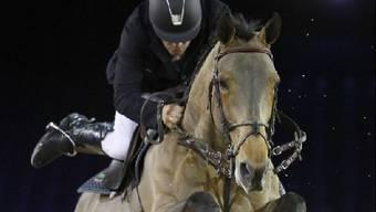 Sieger Roger-Yves Bost mit Myrtille Paulois.