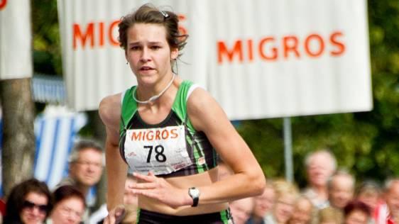 Melanie Richard beendet den Migros Sprint auf Platz eins