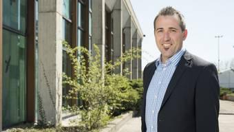 Im Sport- und Erholungszentrum in Wettingen fühlt sich der künftige «Tägi»-CEO Marco Baumann schon wie zu Hause.