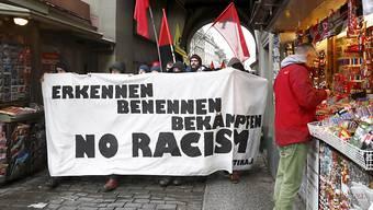 Demonstration gegen Rassismus in Bern. (Archivbild)