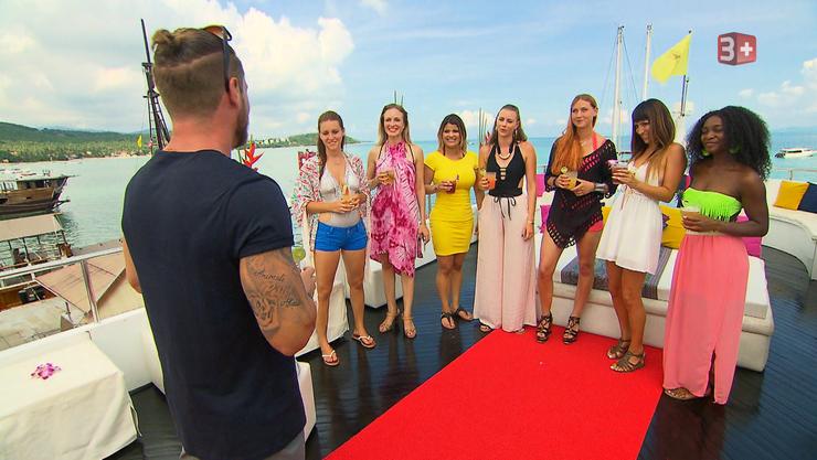Es zieht sie wieder auf die See: Einige Kandidatinnen auf des Bachelors «Yacht.»