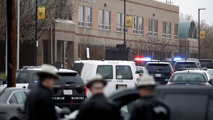 Die Great Mills High School, Tatort einer Schiesserei mit Verletzten