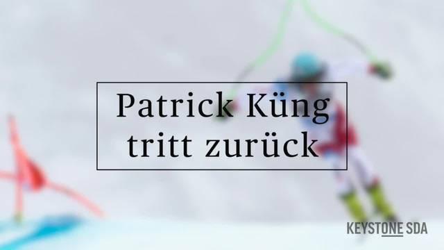"""Patrick Küng: """"Es ist jetzt auch gut so"""""""
