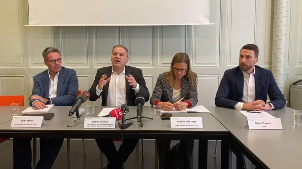 Schweiz weiter von Corona-Virusverschont
