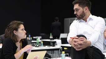 Mattea Meyer und Cédric Wermuth kandidieren gemeinsam für das SP-Präsidium.