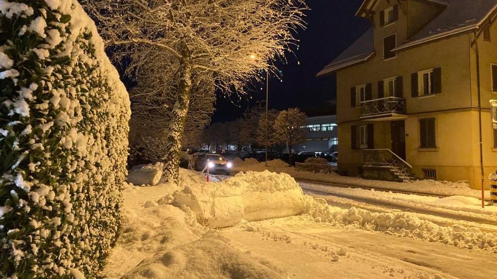 Es bleibt winterlich: Vorsicht auf den Strassen