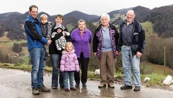 Generationen-Serie: Urgrosi und Urenkelin unter einem Dach in Beinwil