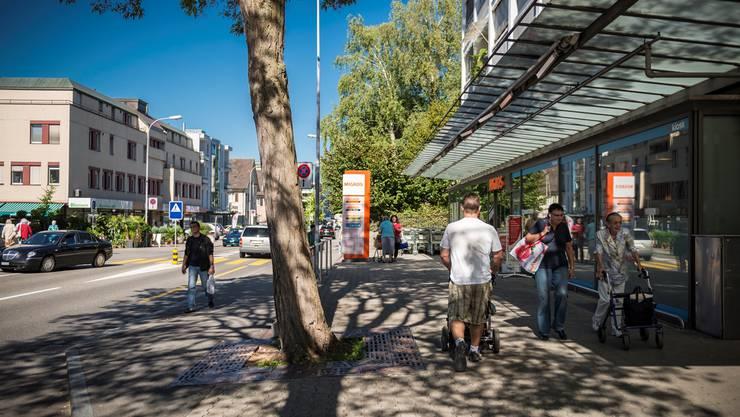 Landstrasse bleibt Hauptverkehrsader und Einkaufsmeile.