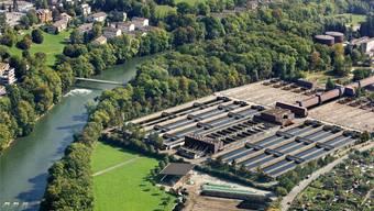 Auf dem Werdhölzli Areal wird das neue Vergärwerk voraussichtlich Ende 2013 in Betrieb genommen.