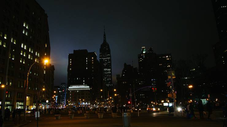 Earth Hour in New York
