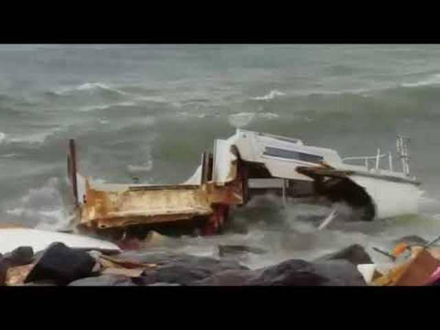 Sturm auf Martinique, St. Kitts und den umliegenden Inseln.