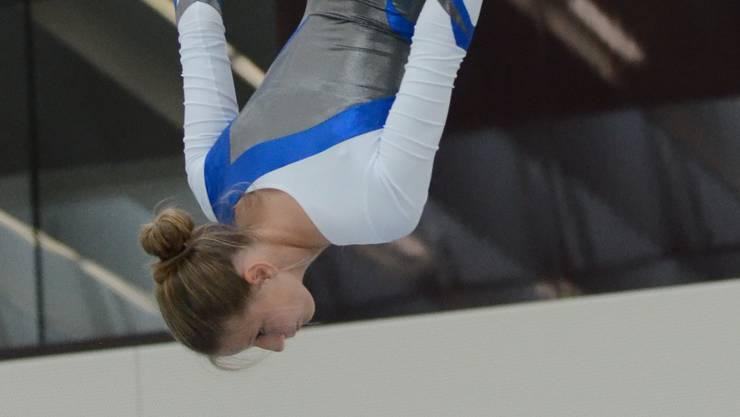 Silvina Hufschmid turnt in der Kategorie National A Frauen
