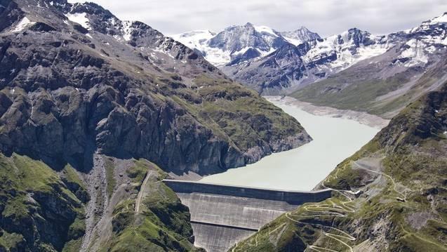 Staut seit einem halben Jahrhundert Wasser im Wallis: Staumauer Grande Dixence (Archiv)