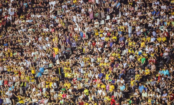 Handballspiel vor 44'189 Zuschauern: Das ist neuer Weltrekord.