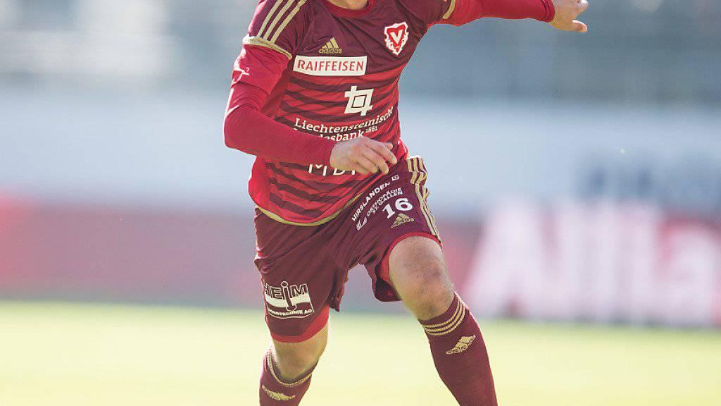 Moreno Costanzo löste letzte Woche seinen Vertrag mit Vaduz auf und kommt nun beim FC Thun unter