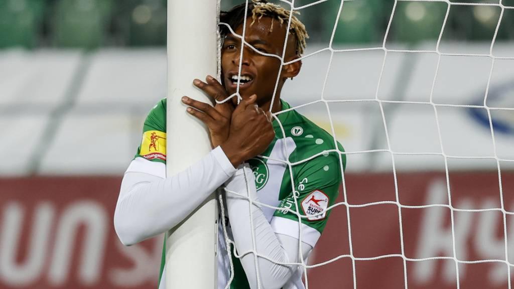 Junior Adamu und der FC St. Gallen kommen nicht mehr auf Touren