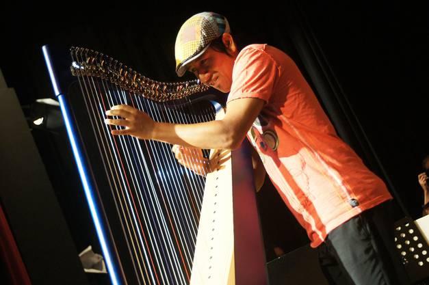 Jazzige Harfenklaenge von Edmar Castaneda