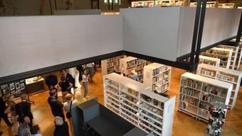 Eines der Projekte der letzten Jahre: Der Umbau der alten Turnhalle zur Stadtbibliothek. (Archiv)