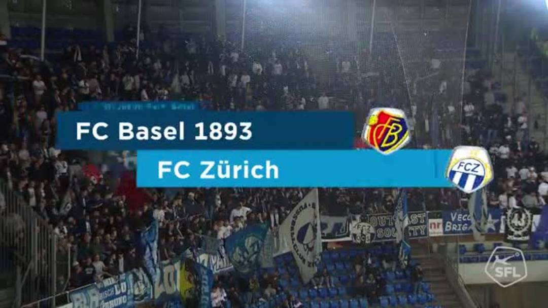 Highlights der Partie Basel - Zürich (26.09.19)
