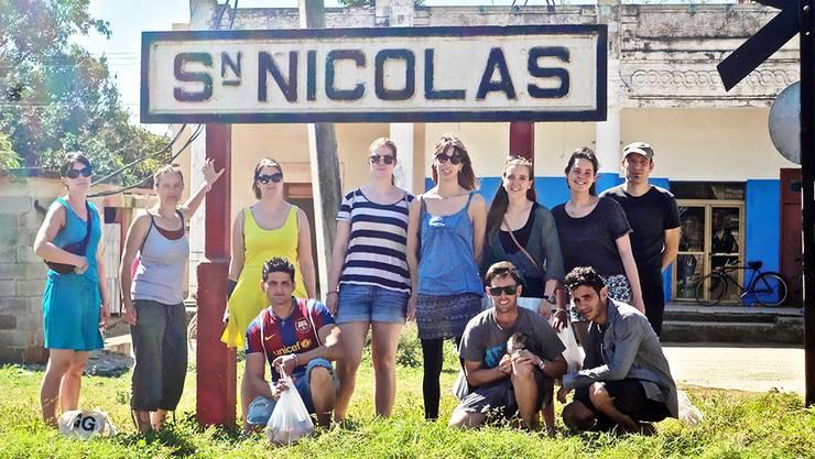 Die Jugendgruppe «Together» auf einer ihrer Austauschreisen in Kuba.