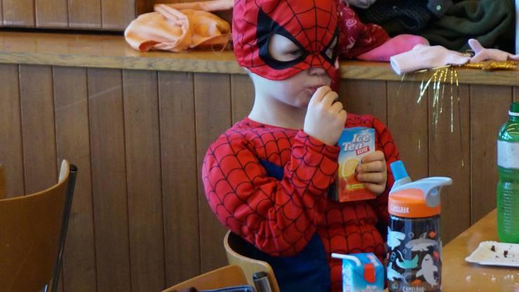Spiderman stärkt sich