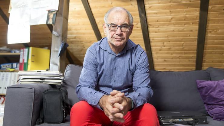 «Julian Assange ist nicht der Schlauste», sagt Rudolf Elmer, Ex-Banker, Aktivist, Täter und Hausmann.