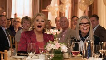 """Szenenbild aus der Frauenkomödie """"Book Club"""", die am Wochenende vom 20. bis 23. September 2018 in den Deutschschweizer Kinos am meisten Besucher hatte. (Archiv)"""