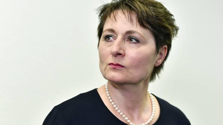Die Aargauer Gesundheitsdirektorin Franziska Roth tritt nach zweieinhalb Jahren zurück. (Archiv)
