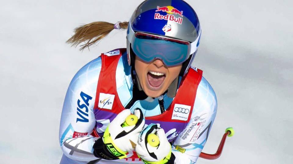 Cortina: Lindsey Vonn siegt auch im Super-G
