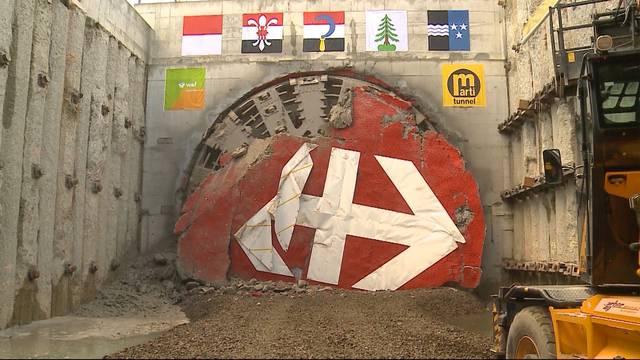 Durchstich Eppenbergtunnel