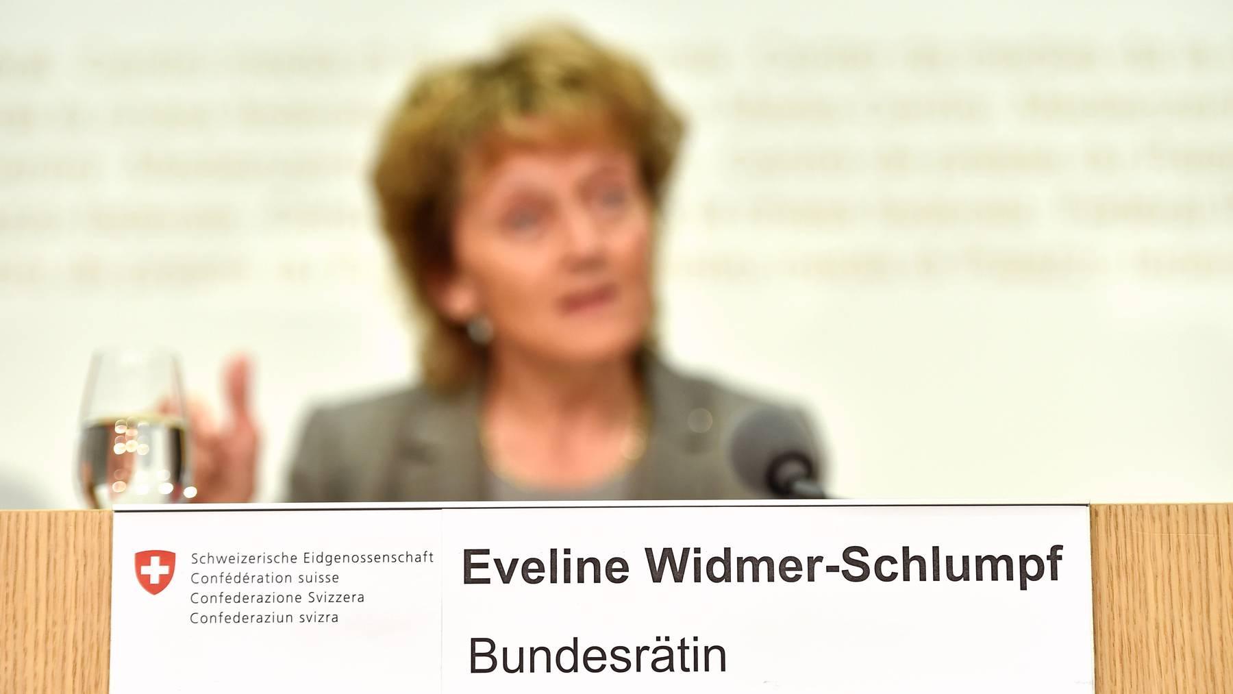 Der letzte – längst sistierte – Anlauf zur Anpassung der Verrechnungssteuer geht zurück auf Eveline Widmer-Schlumpf.