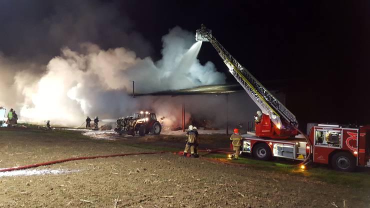 Dieses Mal geht man von Brandstiftung aus – 2012 entfachte das Feuer vermutlich durch einen technischen Defekt.