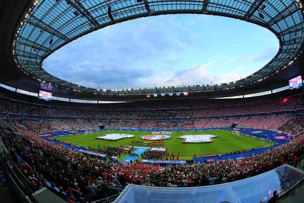 Deutschland - Polen wird in Saint Denis ausgetragen.