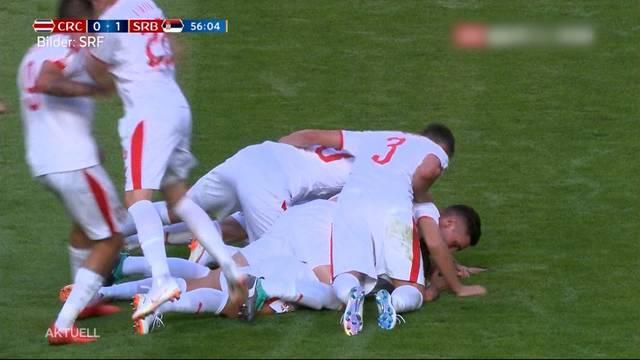 Serbien gewinnt gegen Costa Rica