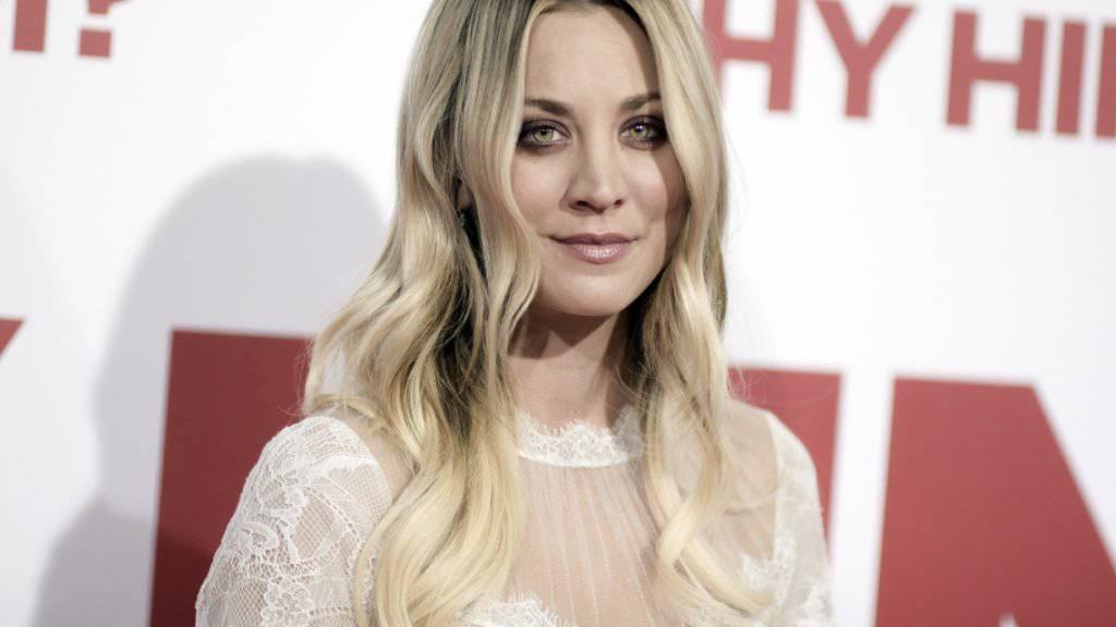 Wird bald in einer Thriller-Mini-TV-Serie zu sehen sein: US-Schauspielerin Kaley Cuoco («Big Bang Theory»). (Archivbild)