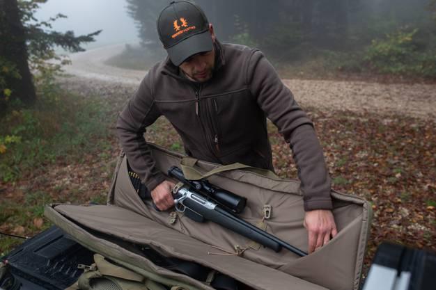 Das Gewehr hat der Jäger zwar stets dabei - er braucht es aber nicht immer.