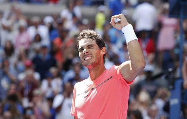 Rafael Nadal steht ebenfalls souverän in den Viertelfinals.