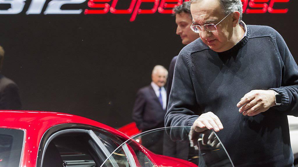 Fiat Chrysler-CEO Sergio Marchionne erteilt Abspaltungs-Gerüchten eine Absage. (Archiv)