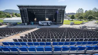 Die Vorbereitungen auf das Eidgenoessische Turnfest 2019 in Aarau laufen auf Hochtouren.