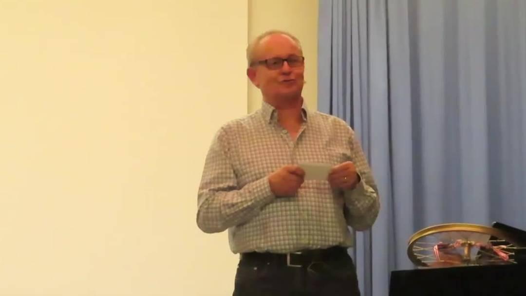 Verabschiedung des Derendinger Finanzverwalters Peter Weibel