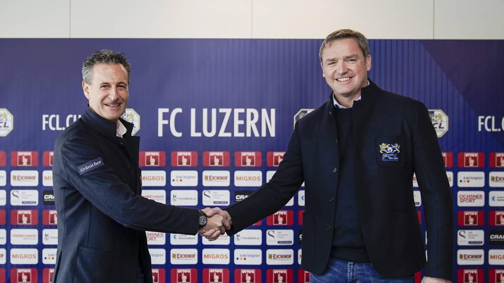 Stefan Wolf ist neuer Präsident des FC Luzern