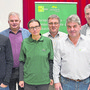 Der Jurapark-Vereinsvorstand und die Gemeindevertreter von Frick und Ueken freuen sich über den Entscheid.