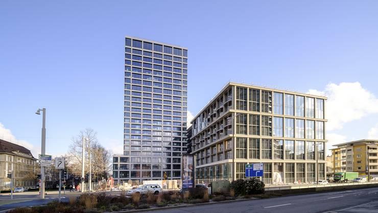 Die Eröffnung neuer Bürogebäude, beispielsweise des Baloise Park, verschärft das Phänomen.