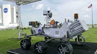 """Der Mars-Rover """"Perseverance"""" wird Bodenproben auf dem Roten Planeten nehmen, die dann an die Erde zurückgeschickt werden. (Archivbild)"""