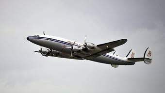 """Die legendäre """"Super Connie"""" kommt ins Glarnerland: Das historische Passagierflugzeug zählt zu den Stars am grossen Flugmeeting in Mollis. (Archivbild)"""
