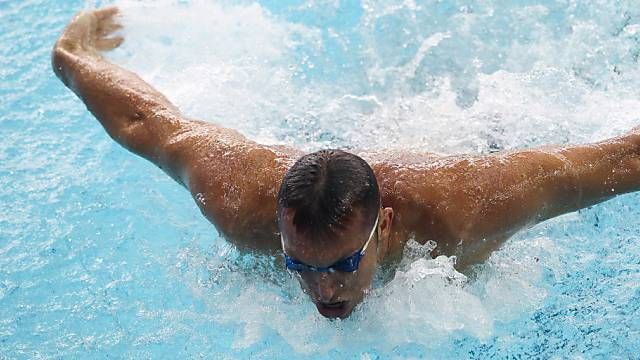 Ian Thorpe pflügt sich durchs Wasser