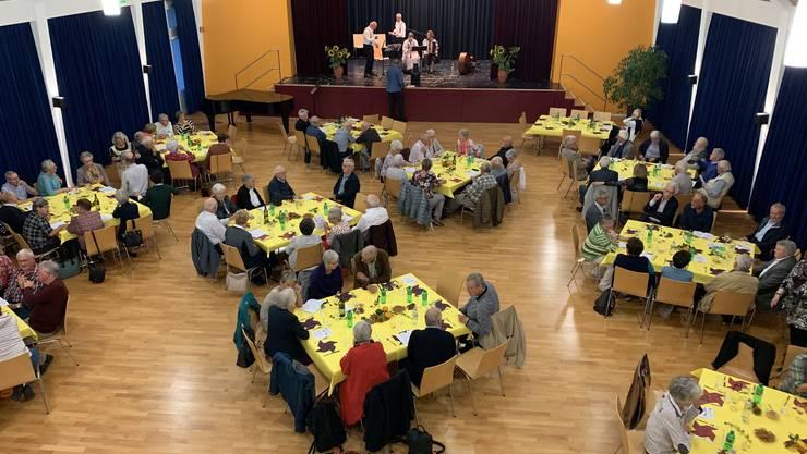 """Jubiläumsfeier """"25 Jahre Seniorenrat Dietikon"""" im Kirchgemeindehaus der Reformierten Kirche Dietikon  (Bild: A. Scheiwiller)"""