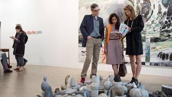 Die Besucher der Art Basel: Sie wollen Kunst sehen und vielleicht auch kaufen. Selbst sind sie manchmal auch ein Kunstwerk.